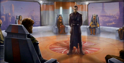 Barel Ovair voor de Jedi High Council