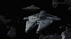 Sith Fleet arriveert bij Korriban