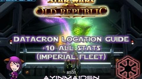 ★ SWTOR ★ - Datacron Location Guide - Imperial Fleet (Ziost Shadow) - 10 to All Stats