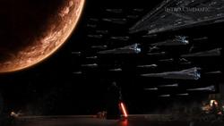 Imperial Navy arriveert bij Korriban