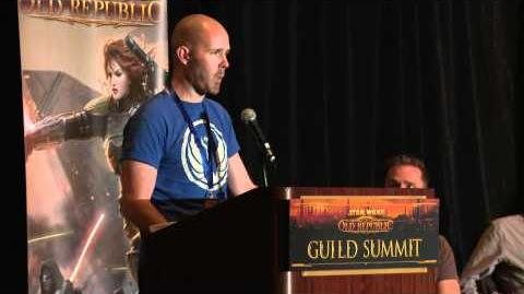 STAR WARS The Old Republic - Guild Summit Legacy Panel