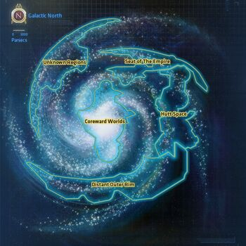Galaxy Map Star Wars The Old Republic Wiki