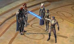 Lord Scourge voor de Jedi Council