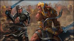 Naga Sadow in een gevecht om macht