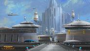 Een stad op Alderaan