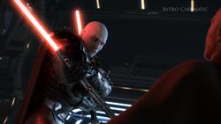 Malgus vermoord de Zabrak Jedi Master