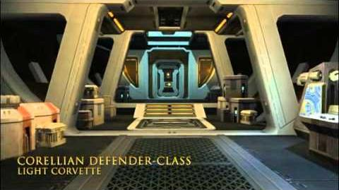 Corellian Defender-class Light Corvette