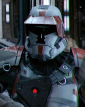 Naamloze Republic Trooper (Korriban Space Station)