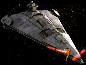 Centurion-class battlecruiser attack