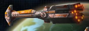 Thranta-class warship