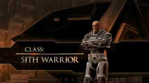 STAR WARS™ The Old Republic™ - Class Video - Sith Warrior