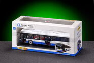 Volvo B10BLE (Custom) model in box