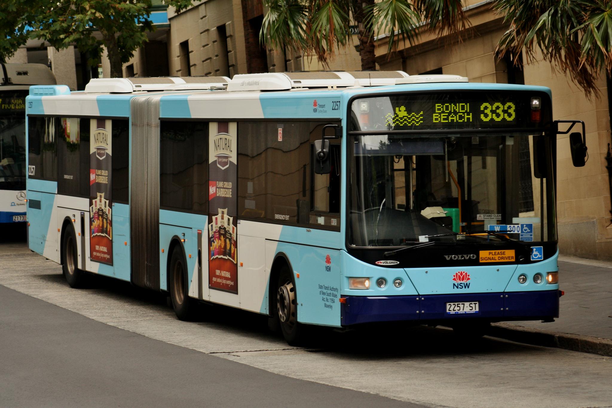 Kết quả hình ảnh cho bus 333 route sydney