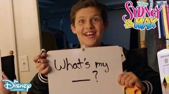 'What's my' Game 😅 Sydney To The Max Disney Channel UK