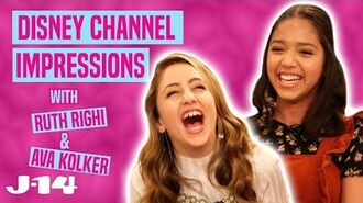 Sydney to the Max Stars Ruth Righi and Ava Kolker Do Disney Channel Impressions