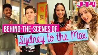 Sydney to the Max Cast Takes Fans Behind-the-Scenes of Disney Channel Set