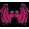 Wingsdraconic wings pink