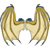 Wingsdraconic wings gold