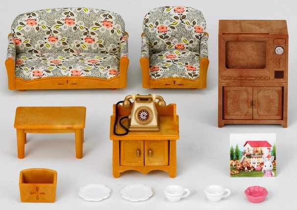 Country Living Room Set | Sylvanian Families Wiki | FANDOM ...