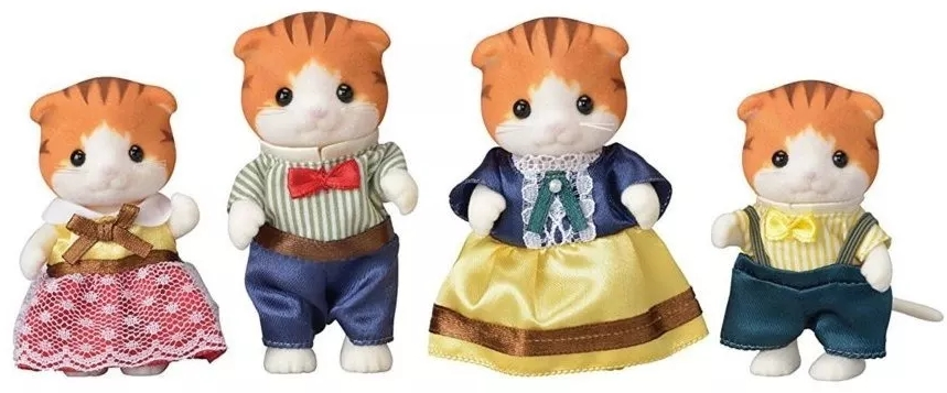 Epoch Calico Critters Boy of dolls maple cat