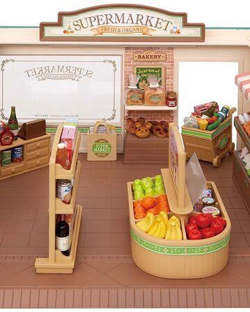 Epoch Sylvanian Familes Supermarket Set Sylvanian