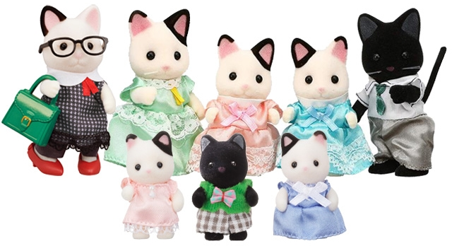 Sylvanian Families MAPLE CAT FATHER /& MOTHER Bundle Epoch Japan Calico Critters