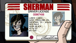 Lance's Drivers Licenses in Roar of the White Dragon