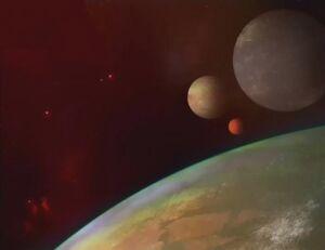Galaluna with Moons