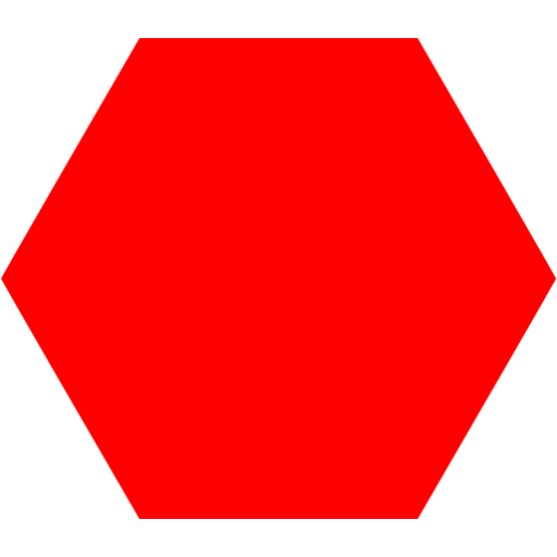 how to draw the net of a hexagon