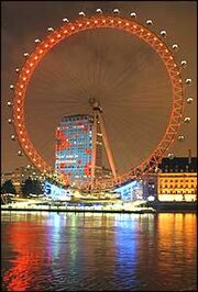 London eye poppy day