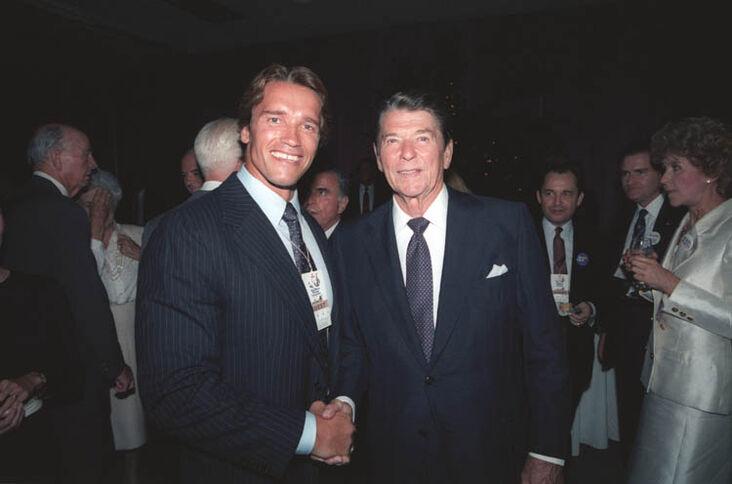 ¿Cuánto mide Ronald Reagan? - Altura - Real height 732?cb=20090103065555