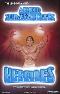 Hercules in new york movie poster