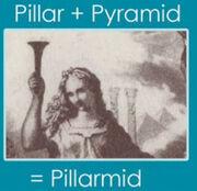 Pillarmids with Goddess