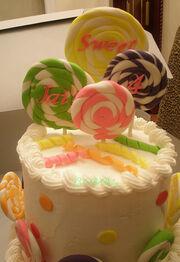 Jai's Lollipop Cake