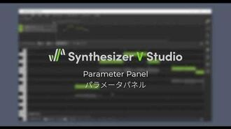 Synthesizer V Studio Parameter Panel