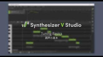 Synthesizer V Studio Tuning Basics