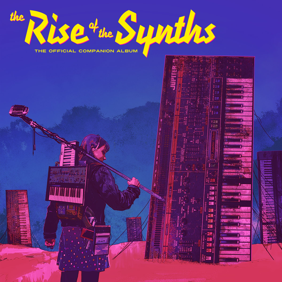 The Rise Of The Synths: The Official Companion Album (Various