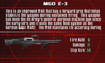 SFCO M60 E-3 Screen