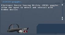 SFLS EDSU goggles Screen