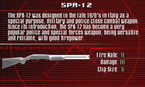 SFCO SPA-12 Screen