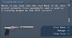 SFLS Paintball Gun Screen