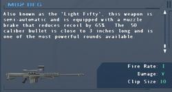 SFLS M82 BFG Screen