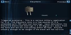 SFTOS Claymore Screen