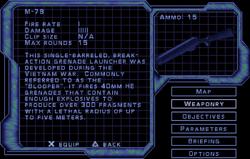 SF2 M-79 Screen
