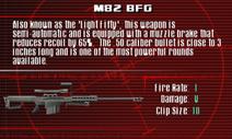 SFCO M82 BFG Screen