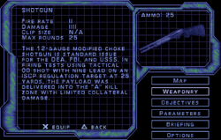 SF3 Shotgun Screen