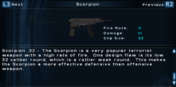 SFTOS Scorpion Screen
