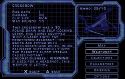 SF3 Crossbow Screen