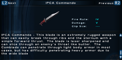SFTOS IPCA Commando Screen