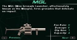 SFDM MGL Screen
